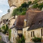 The lovely picturesque village Beynac in Perigord, Dordogne