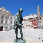 Tartini Square, Piran