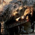 Train through the Postojna Cave, Slovenia