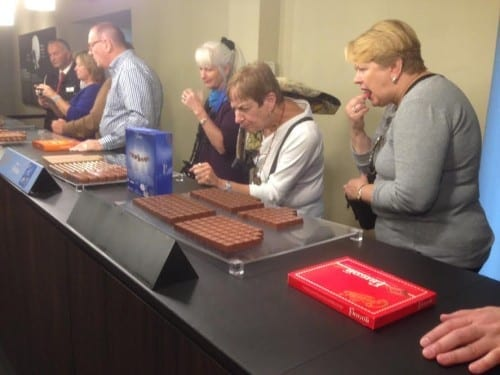 Chocolate tasting Maison Cailler