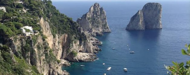 Italy tour sorrento and the isle of capri olde ipswich for Isle of capri tours