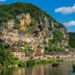 La Roque Gageac in Perigord, Dordogne, France
