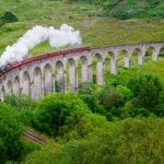 "Glenfinnan Viaduct (""Harry Potter"" bridge), Scotland"