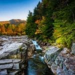 Rocky Gorge on the Kancamagus Highway, in White Mountain National Forest, New Hampshire