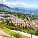 Town of Assisi and surrounding countryside
