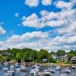Boats in Perkins Cove, Ogunquit Maine