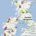 tour ireland map