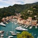 The small Italian fishing village of Portofino