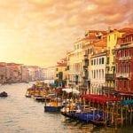 Beautiful Venice canal view