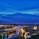 Rouen by night