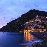 Positano on the Amalfi Coast at Twilight