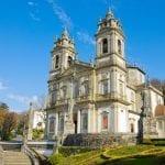 Basilica of Shrine of Bom Jesus of the Mountain, Braga, Portugal