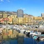 View on marina in Monte Carlo, Monaco