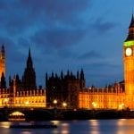 House of Parliament and Big Ben, River Thames, London