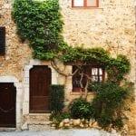 Buildings in the quaint little French hilltop village of Saint-Paul de Vence