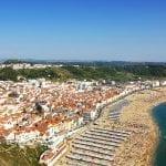 Landscape of Nazare, Portugal