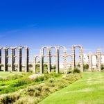 Aqueduct of Los Milagros, Extremadura, Spain
