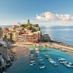 Small town of Vernazza, Cinque Terre, Italy