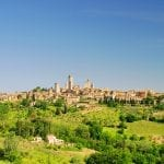 Panorama of San Gimignano