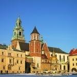 Wawel Castle complex in Krakow, Poland