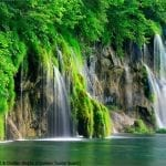 National Park of the lakes of Plitvice