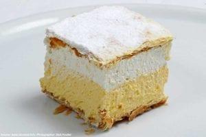 croatia tours bled cream cake