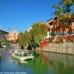 River Ljubljanica, Slovenia