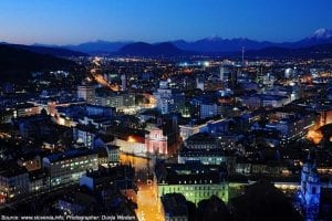 croatia tours ljubljana night