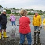 Clamming expedition in Ipswich — world's best clams!