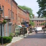 Exploring the quaint streets of Newburyport
