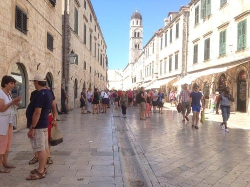 MainSt OldTown Dubrovnik