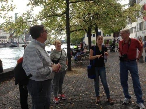 Touring Zurich