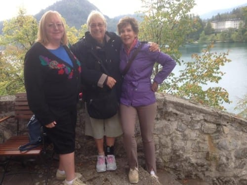 Ladies in Bled