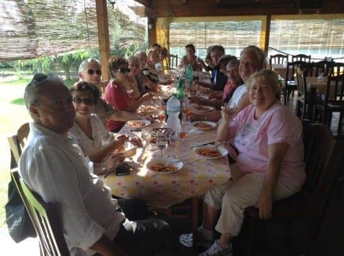Mt Vesuvius wine tasting