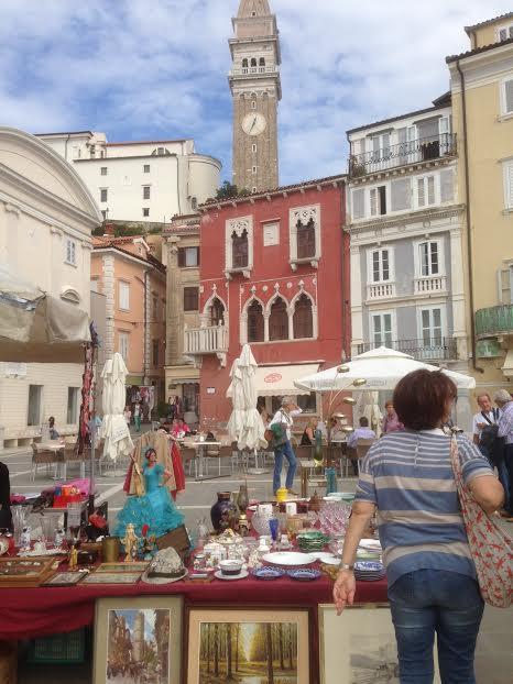 Piran market