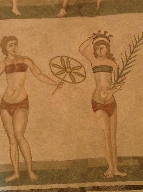 VillaRomana mosaics