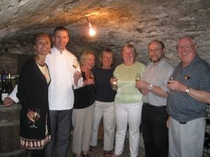Manoir de Chaix wine cave