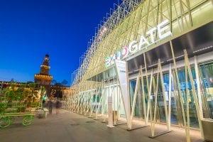 Milan Italy Expo Gate