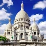The magnificent Sacre Coeur in Paris