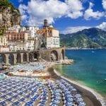 The Village of Atrani on the Amalfi Coast, Italy