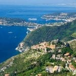 Eze and Cap Ferrat on the French Riviera