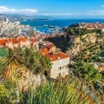 Principaute of Monaco and Monte Carlo in the South of France