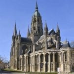 Notre Dame cathedral of Bayeux, Normandy, France
