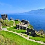 Urquhart Castle on Loch Ness, Scotland