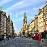 Edinburgh's Royal Mile, Scotland