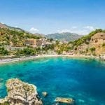 Isola Bella near beautiful Taormina, Sicily