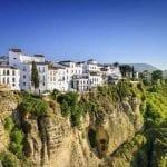 Tajo Gorge in Ronda, Spain
