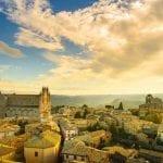 Beautiful day in Orvieto, Umbria, Italy