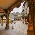 Medieval city of Dinan, France