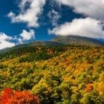 Fall Foliage on the Presidential Range in White Mountain National Forest, New Hampshire